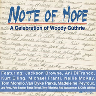 woody guthrie note of hope