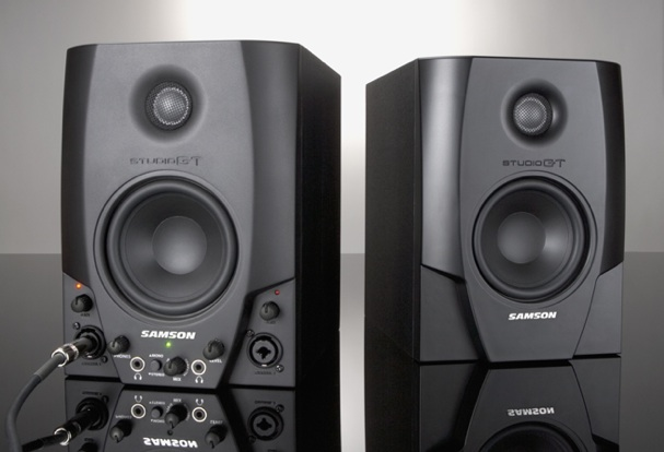 gear review samson studio gt monitors with usb interface american songwriter. Black Bedroom Furniture Sets. Home Design Ideas