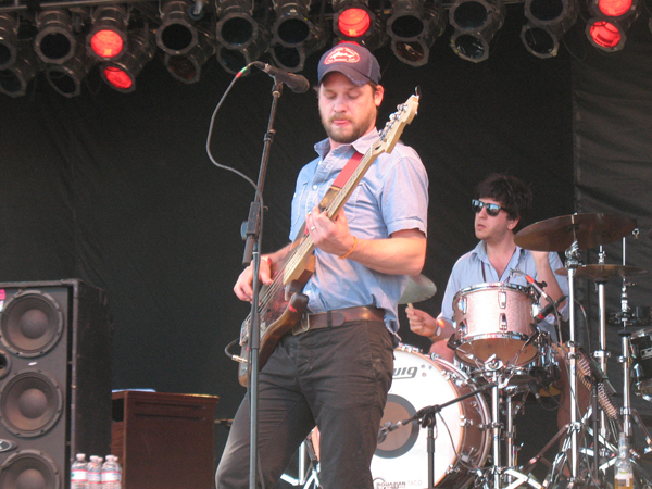 Toby Leaman and Eric Slick of Dr. Dog