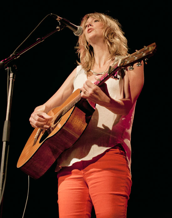 Beth Orton at the Belcourt Theater in Nashville, Tenn.