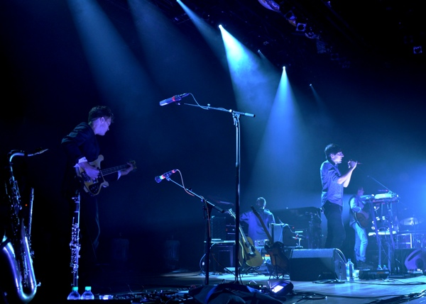 Brooklyn Indie rockers Grizzly Bear took over Nashville's Ryman Auditorium to play songs from their acclaimed new album Shields (9/18/12)