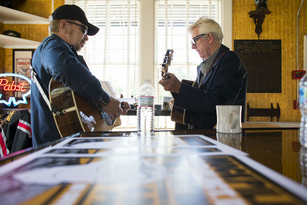 Dave Alvin and Nick Lowe