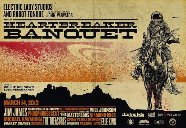 Heartbreaker Banquet Announces SXSW Lineup With Jim James