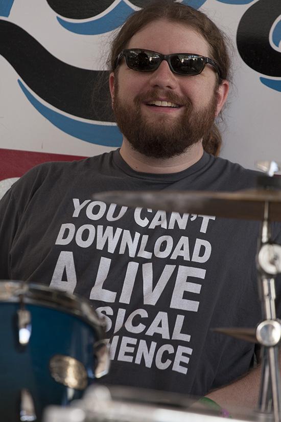 Leo Rondeau's drummer