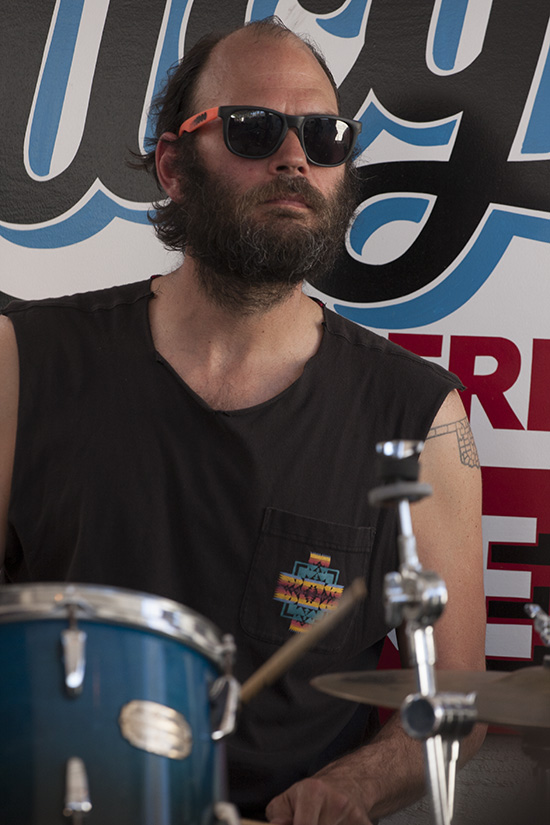 Drummer with Ramsay Midwood