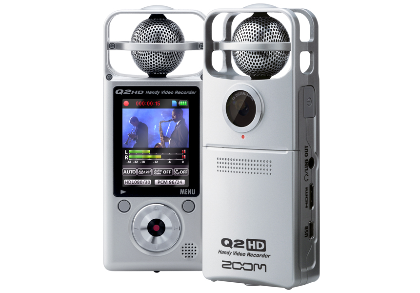 Review: Zoom Q2HD Video Recorder « American Songwriter