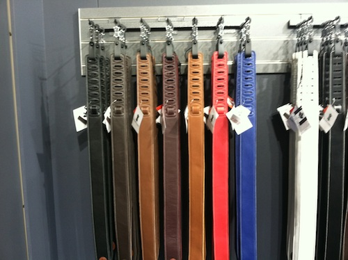 Levy's stylish garment leather three layer straps feel like butter to the touch and rest nicely over your shoulder.