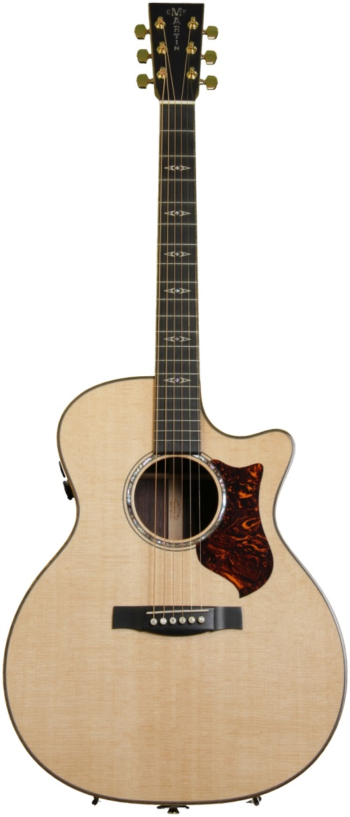 review martin gpcpa1 plus acoustic electric guitar american songwriter. Black Bedroom Furniture Sets. Home Design Ideas