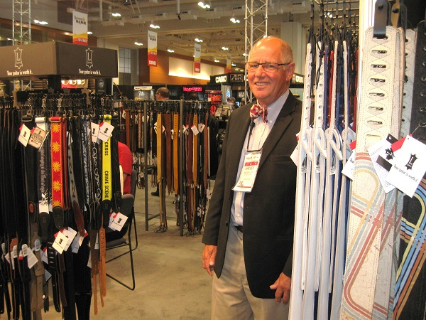 Canadian songwriter and owner of Levy's Guitar Straps Harvey Levy was possibly the only person at Summer NAMM wearing a bow tie.