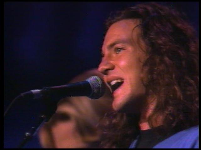 """5. """"Masters Of War"""" by Eddie Vedder & Mike McCready: Pearl Jam's debut album was just a year old when Vedder stepped up to take on Dylan's most caustic anti-war diatribe. If there were any doubts that he belonged with the best of the best in rock history, this searing vocal performance answered them."""