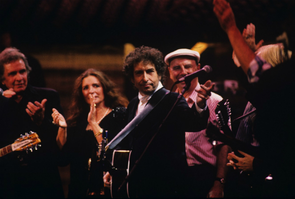 On October 16, 1992, a stunning collection of rock luminaries gathered at Madison Square Garden to fete Bob Dylan on the 30th anniversary of his first album. Coming as it did at a particularly fallow period of Dylan's career, it felt at the time like a retirement party. Of course, Bob flipped that script with some of the best music of his career in subsequent years and is still rolling strong.
