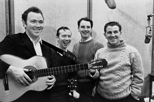 """9. """"When The Ship Comes In"""" by The Clancy Brothers and Robbie O'Connell with special guest Tommy Makem: """"Dylan with an Irish accent"""" is how these folk contemporaries described their performance. They soften Bob's tale of Biblical comeuppance with their timeless harmonies."""