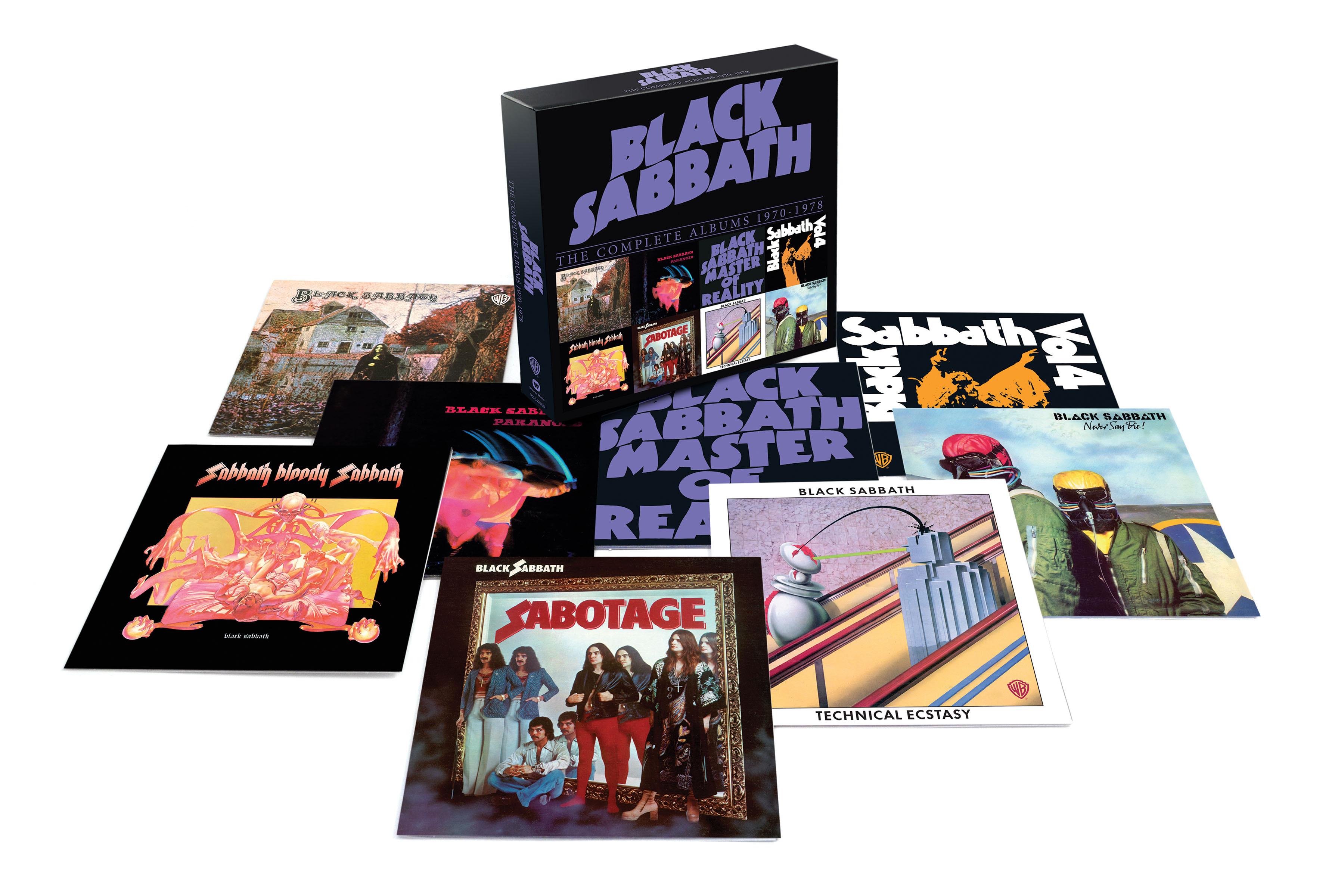 Black Sabbath The Complete Studio Albums 1970 1978