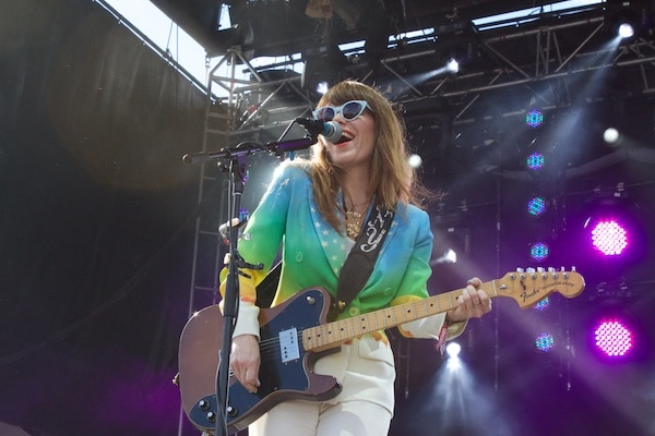 Jenny Lewis performs at Governor's Ball 2014 in New York City. (American Songwriter / Katie Chow)
