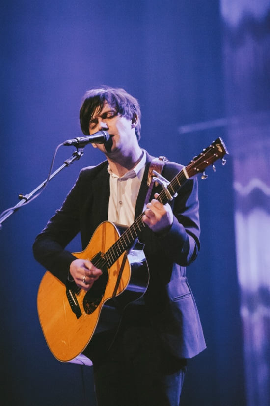 Conor Oberst performs at the Ryman Auditorium on June 6, 2014.