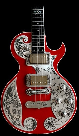 teye guitars coyote electric guitar american songwriter. Black Bedroom Furniture Sets. Home Design Ideas