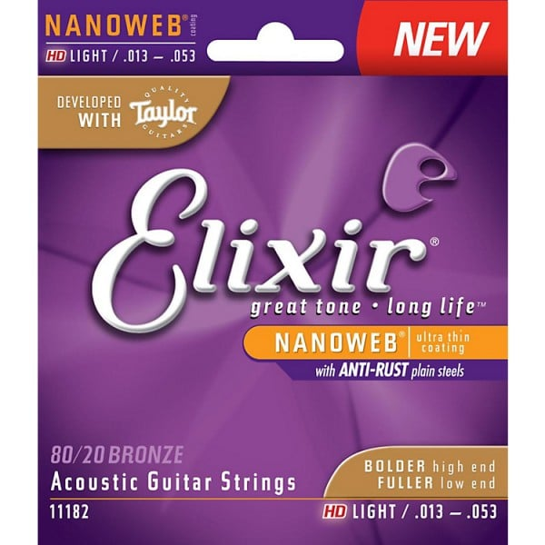 Elixir HD Light Guitar Strings