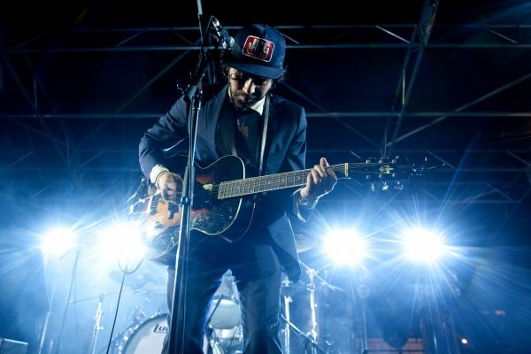 Shakey Graves performs at the Americana Music Association Showcase at Gatsby's during SXSW on March 14, 2014, in Austin, TX. (Erika Goldring Photo)