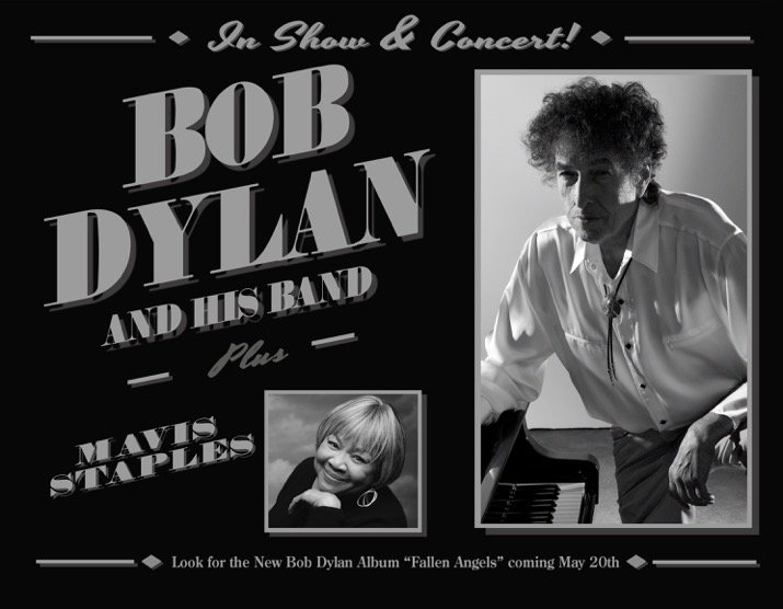 Bob Dylan Announces Summer Tour, New Album « American ... Mavis Staples Bob Dylan