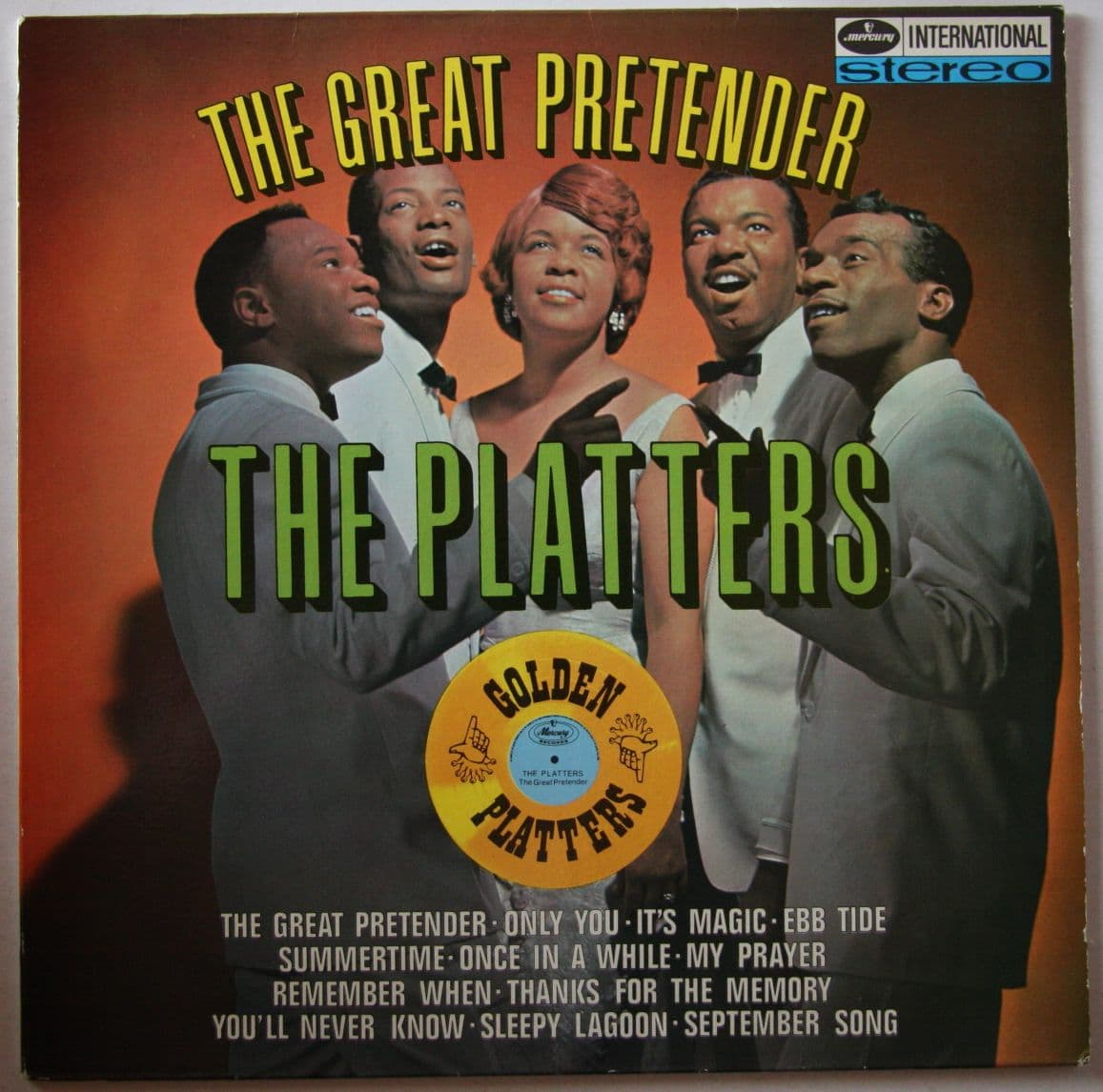 The Platters Quot The Great Pretender Quot 171 American Songwriter