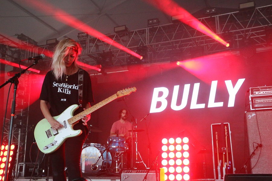 Bully performing at Bonnaroo on Thursday. Photo by John Connor Coulston