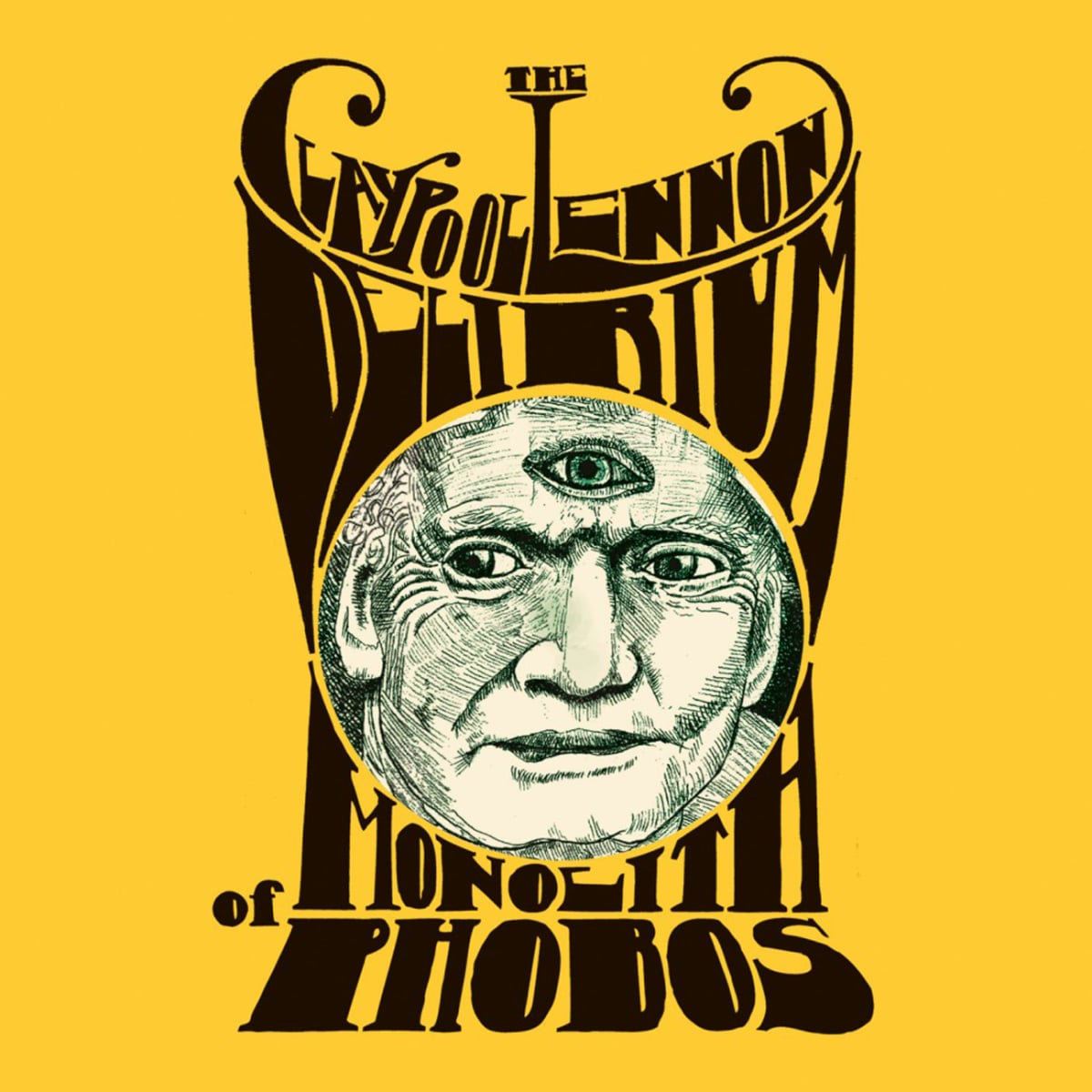 Image result for claypool lennon delirium album monolith of phobos