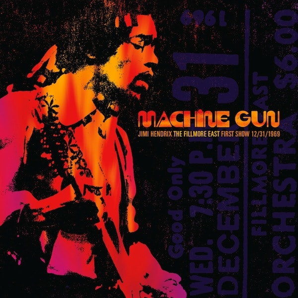 Jimi Hendrix - Machine Gun Fillmore East