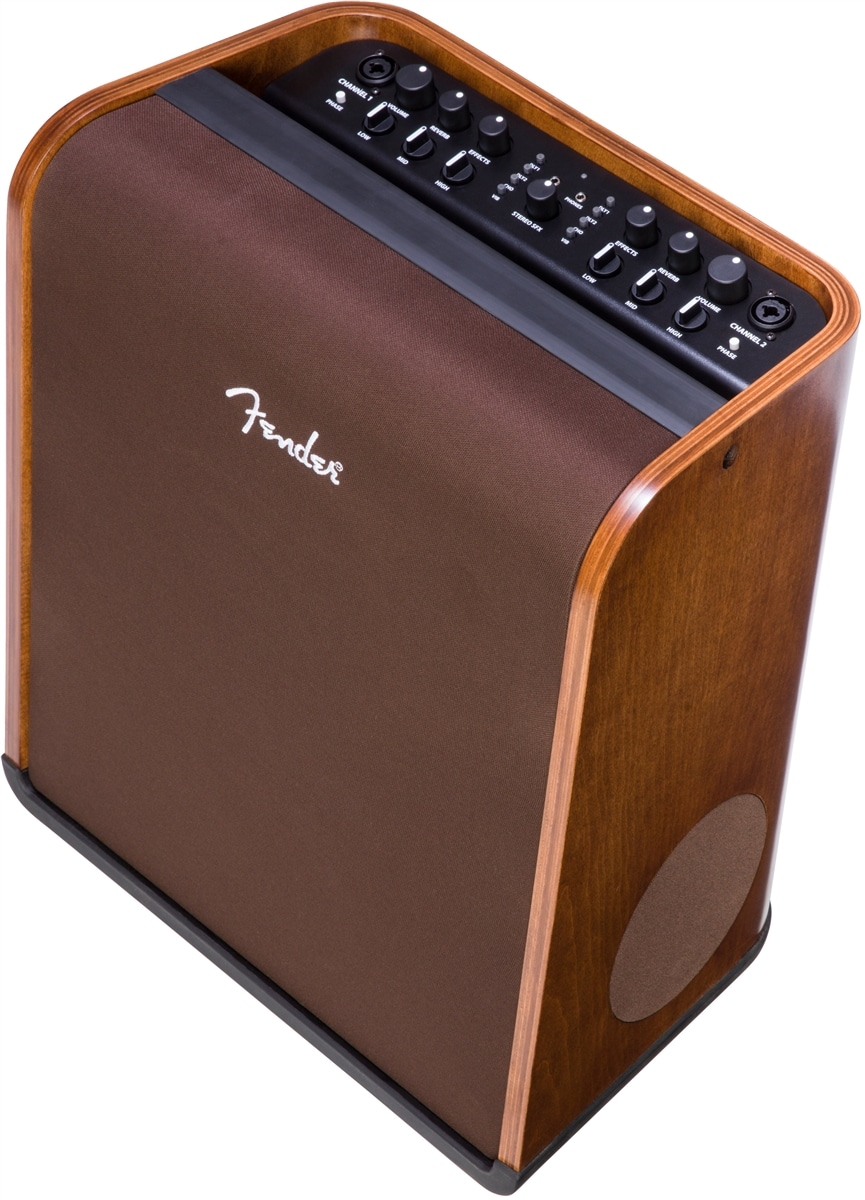 equipment review fender acoustic sfx combo hand rubbed walnut stain limited edition guitar. Black Bedroom Furniture Sets. Home Design Ideas
