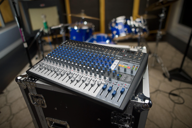 presonus announces studiolive ar22 usb hybrid mixer american songwriter. Black Bedroom Furniture Sets. Home Design Ideas