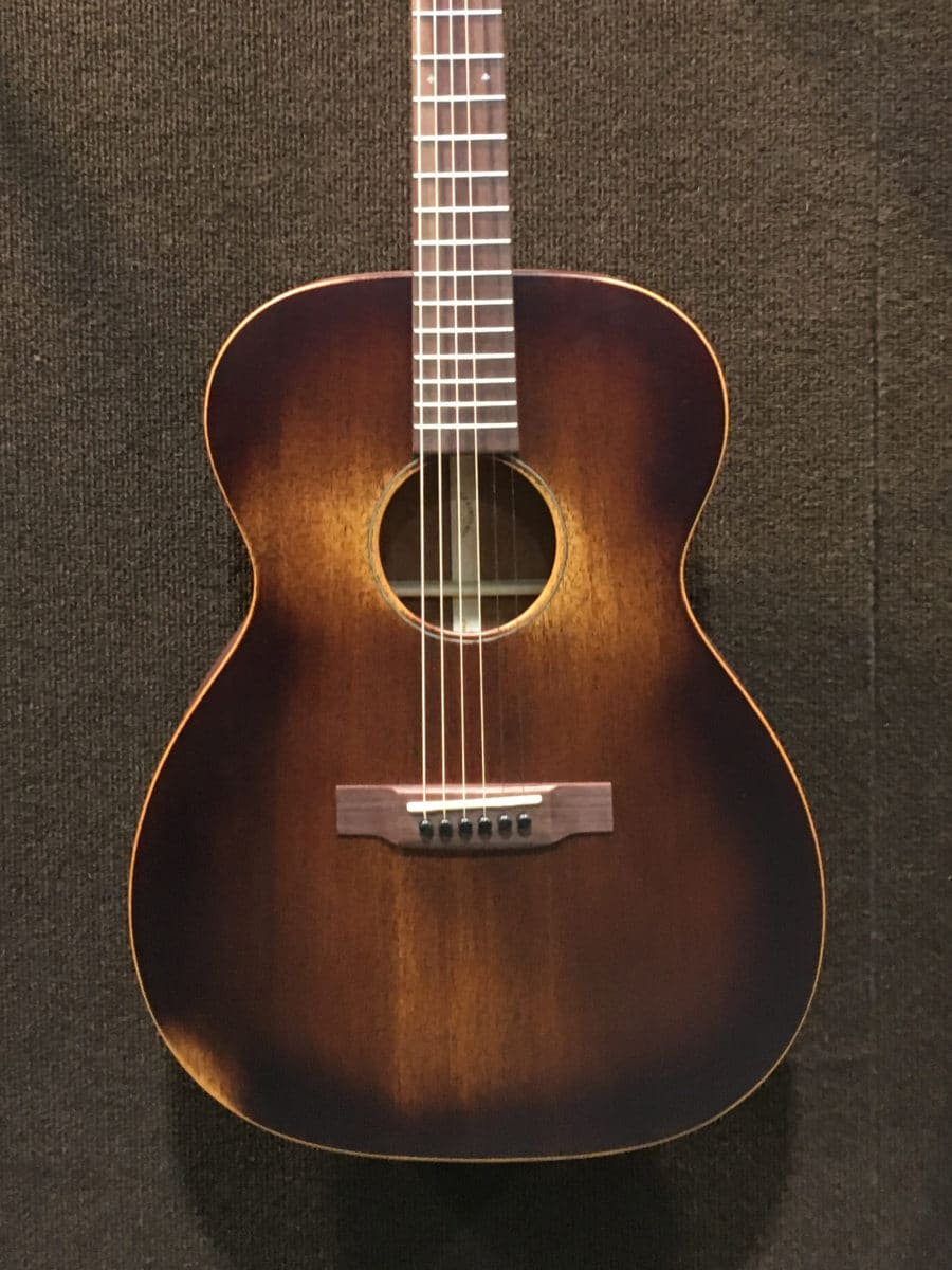Relicing Or Making A New Instrument Look Road Worn Isnt Limited To Electric Guitars The Martin 000 15M Streetmaster Looks As If It Has Years Of Mojo On
