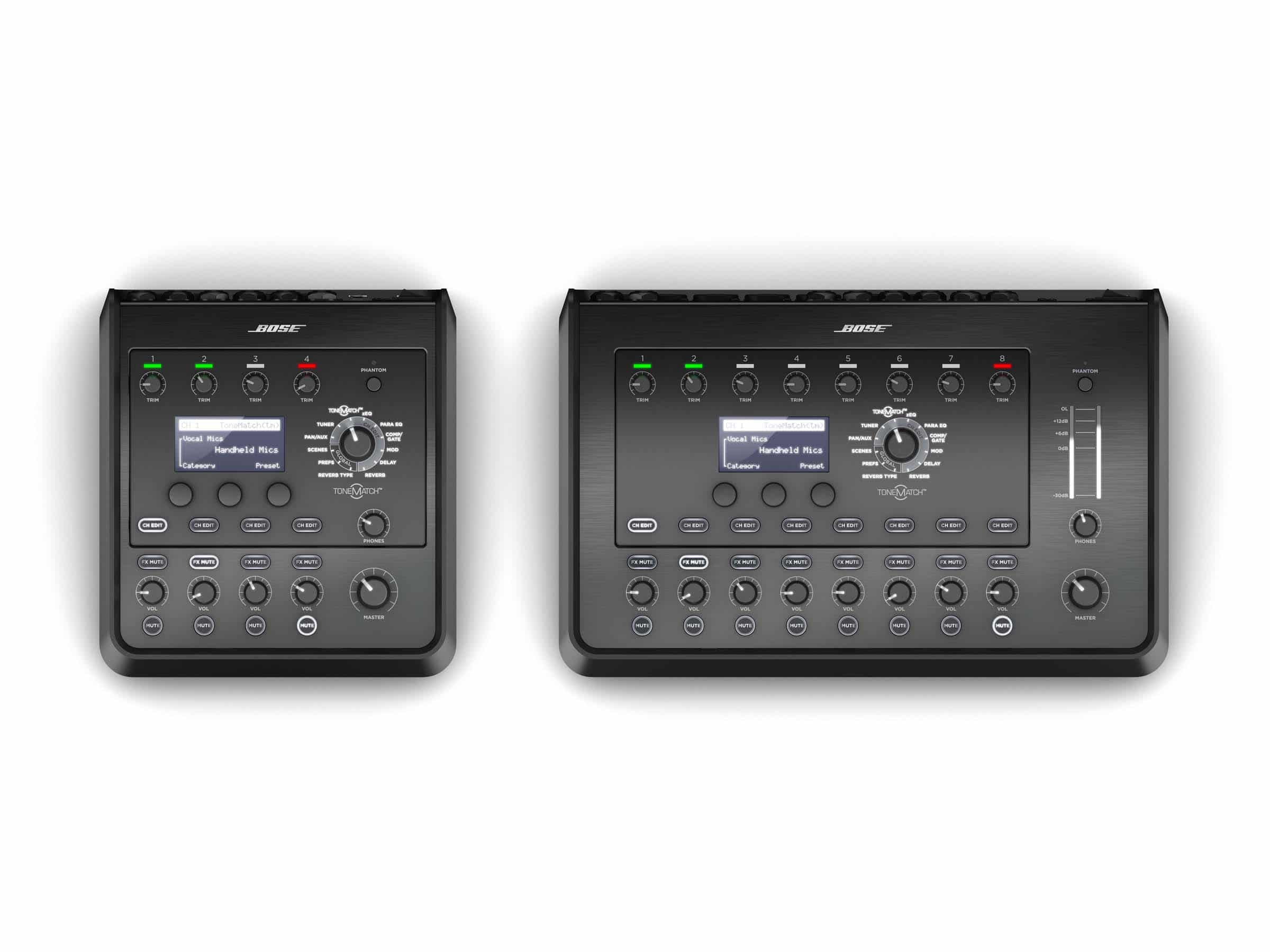 bose professional powerful t8s and t4s tonematch stereo mixers now available american songwriter. Black Bedroom Furniture Sets. Home Design Ideas