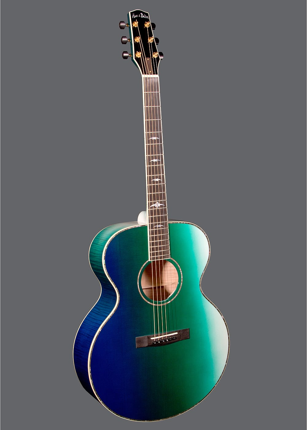 Huss And Dalton Mj Custom Tropical Sand Acoustic Guitar Review