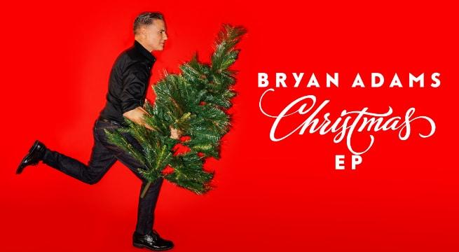 Bryan Adams Releases Christmas EP