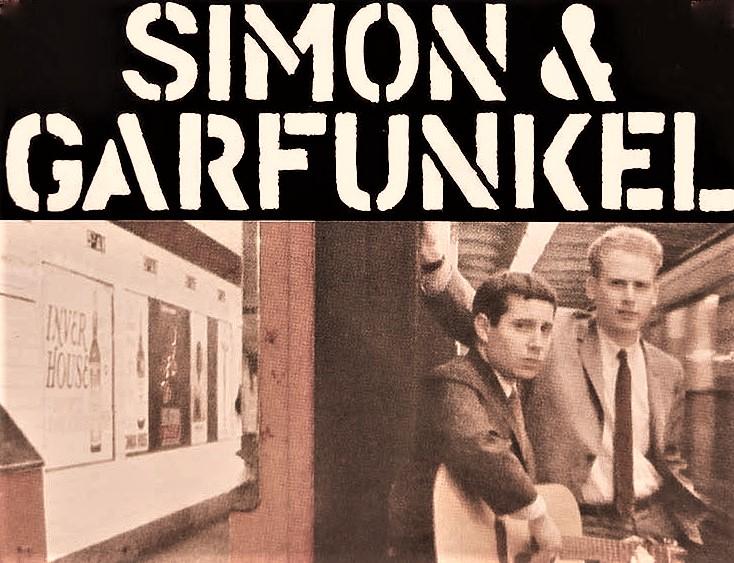 Simon and Garfunkel All-Over Print Crop Tee