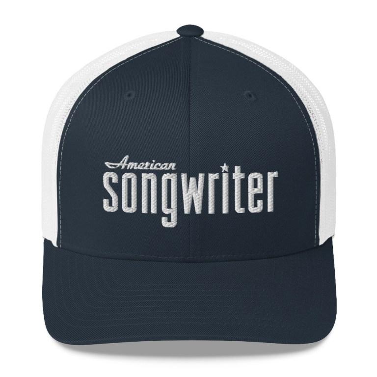 american songwriter logo trucker hat