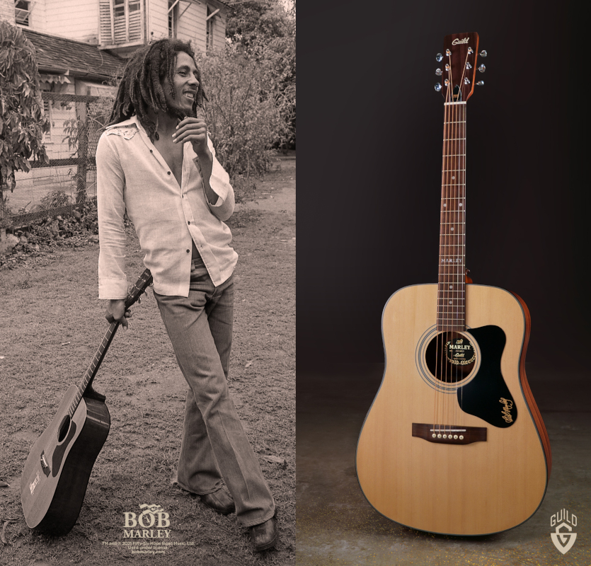 Bob Marley Guild Guitar Giveaway